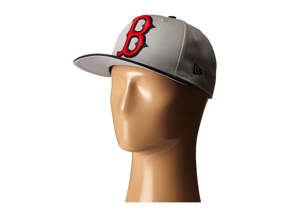 New Era - Logo Grand Redux Boston Red Sox (Grey) Caps