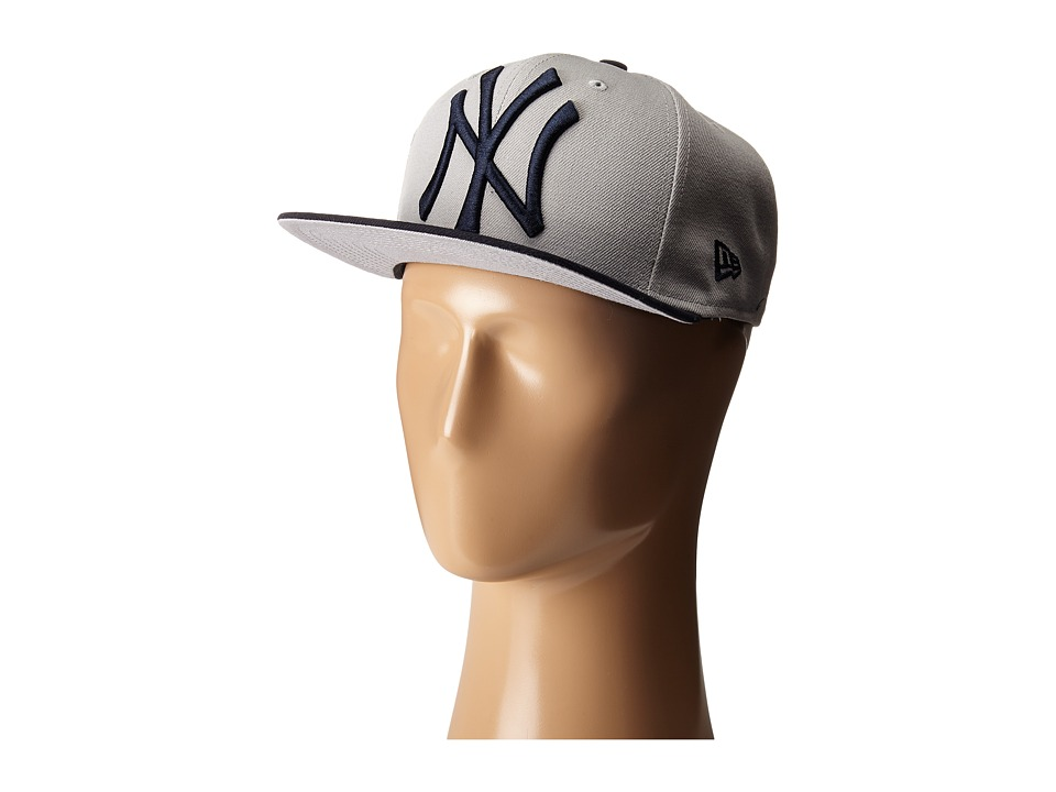 New Era - Logo Grand Redux New York Yankees (Grey) Caps