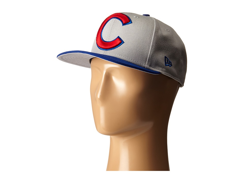 New Era - Logo Grand Redux Chicago Cub (Grey) Caps