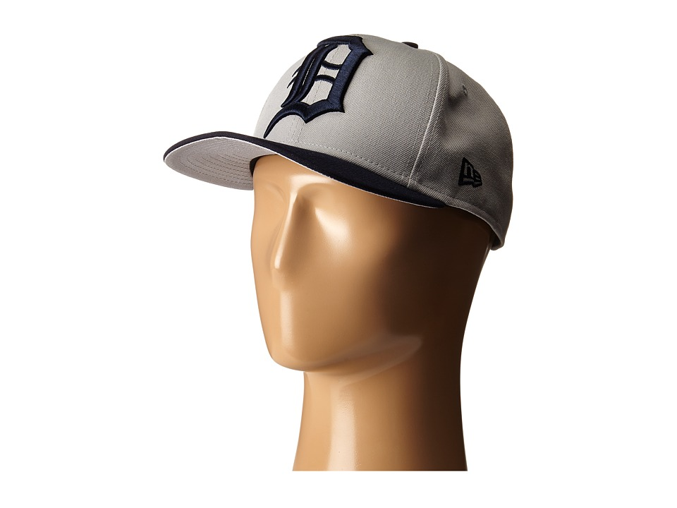 New Era - Logo Grand Redux Detroit Tigers (Grey) Caps