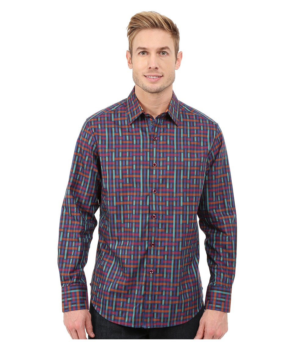 Robert Graham - Misfits Long Sleeve Woven Shirt (Multi) Men