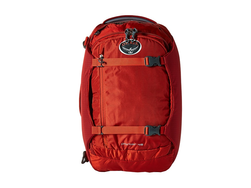Osprey - Porter 46 (Hoodoo Red 2) Backpack Bags