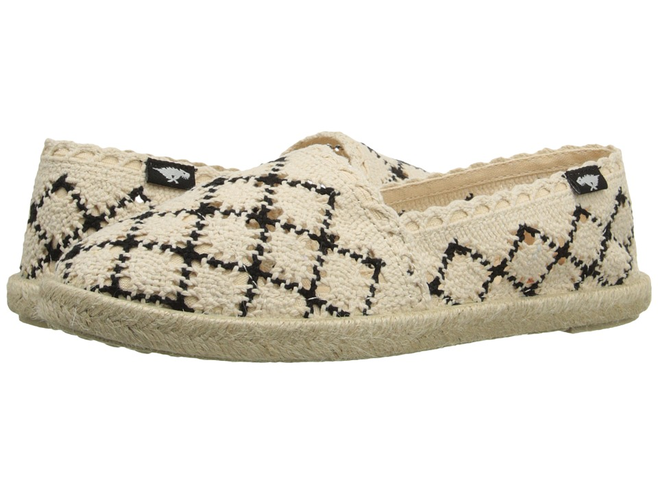 Rocket Dog - Acosta (Natural Mariposa) Women's Slip on Shoes