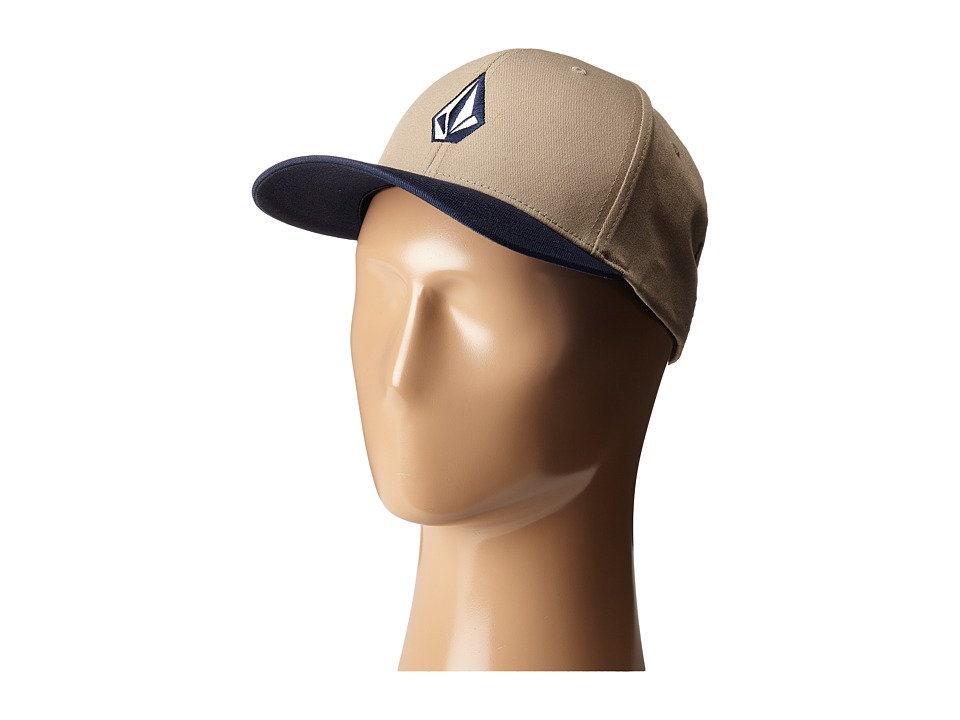 Volcom - Full Stone X-Fit FlexFit (Beige) Baseball Caps