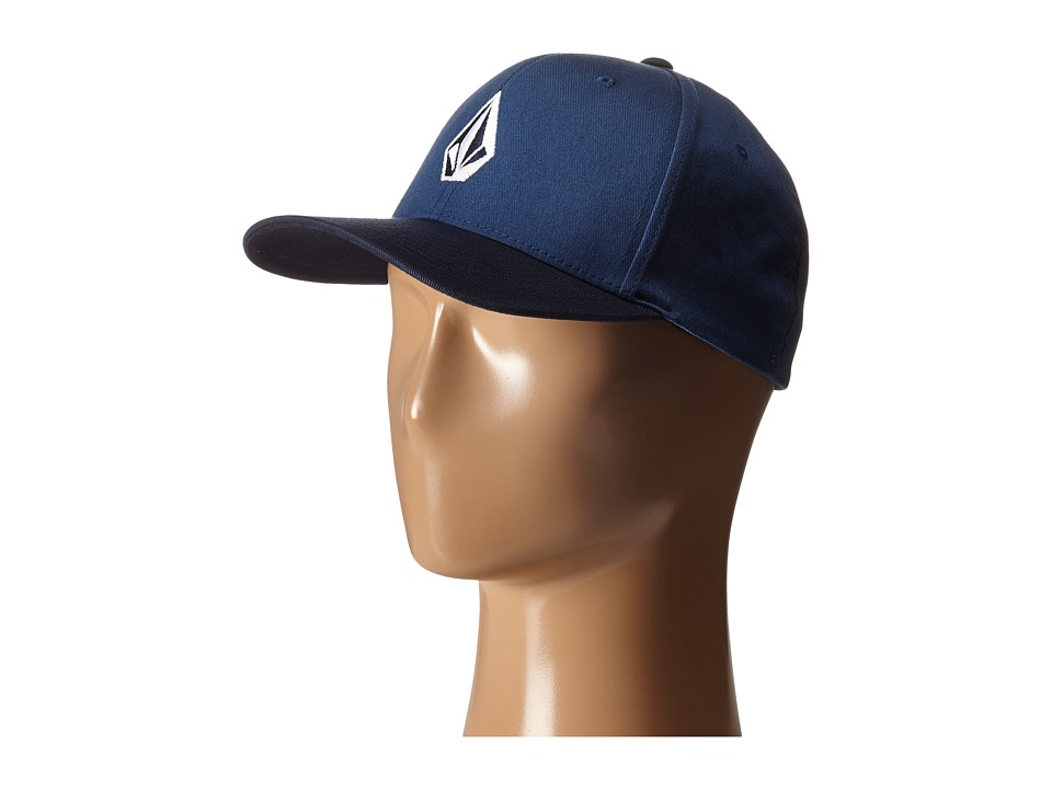 Volcom - Full Stone X-Fit FlexFit (Smokey Blue) Baseball Caps