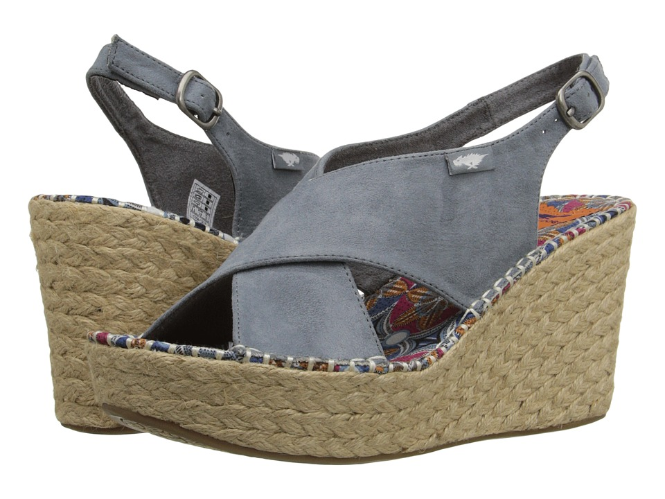 Rocket Dog - Rue (Dusty Blue Coast) Women's Wedge Shoes