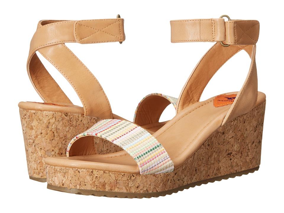 Rocket Dog - Edda (Natural Lucia/Rio) Women's Wedge Shoes