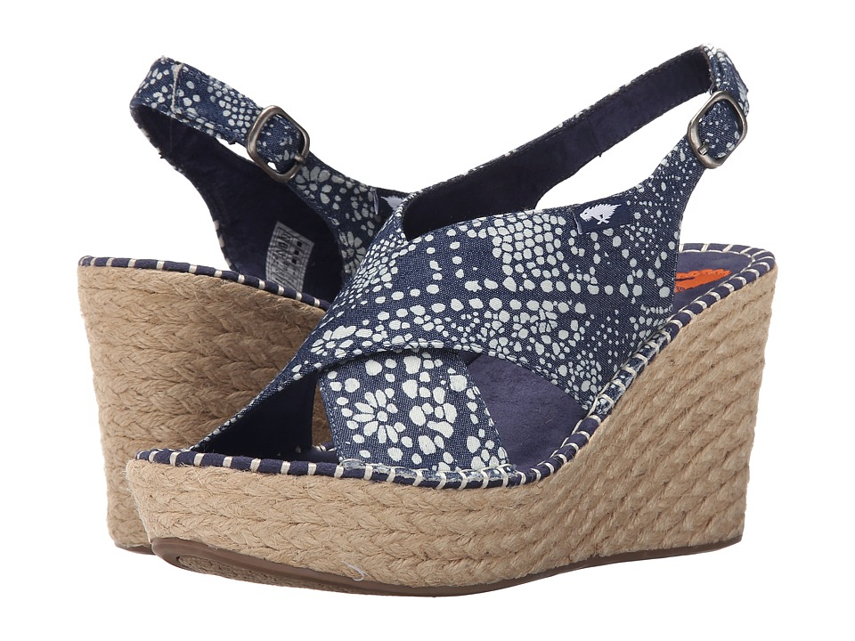 Rocket Dog - Rue (Blue Dream Catcher) Women's Wedge Shoes