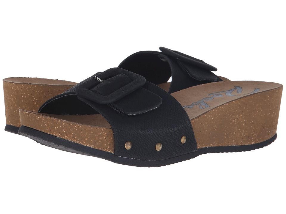 Rocket Dog - Gosford (Black Snakewood) Women's Sandals