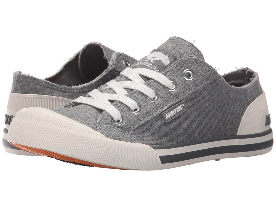 Rocket Dog - Jazzin (Grey Summer Jersey) Women's Lace up casual Shoes