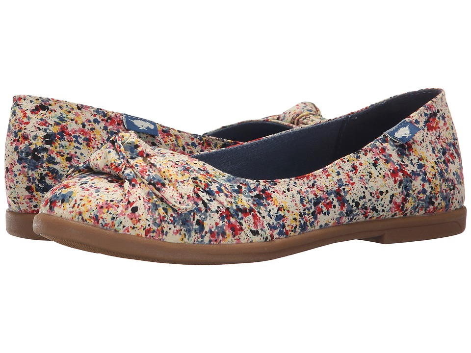 Rocket Dog - Jiggy (Natural Spray Burst) Women's Flat Shoes