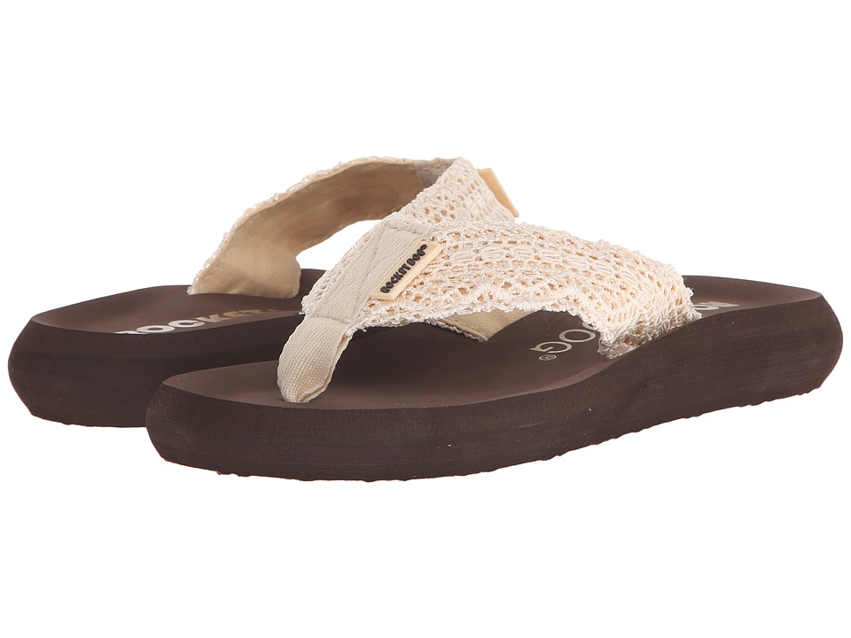 Rocket Dog - Spotlight Comfort (Natural Lima Crochet) Women's Sandals