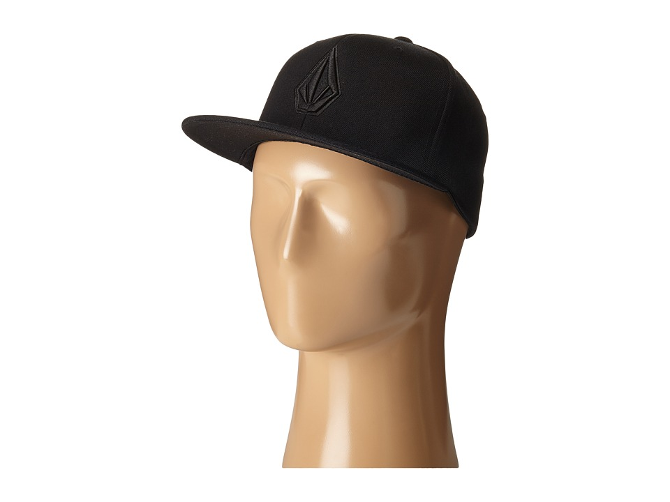 Volcom - Stone Slab JFit Hat (Ink Black) Caps