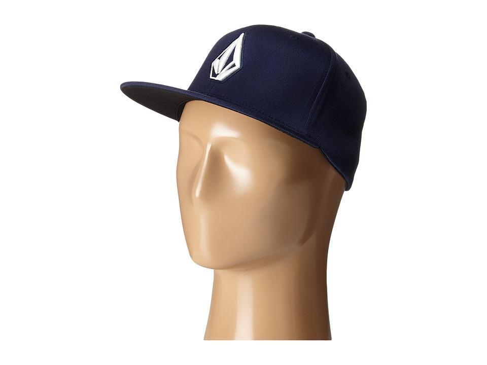 Volcom - Stone Slab JFit Hat (Navy) Caps