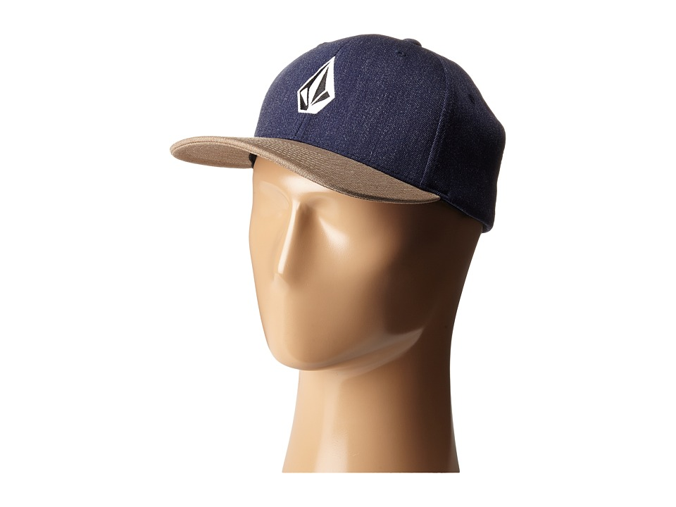Volcom - Full Stone X-Fit (Smokey Blue) Caps