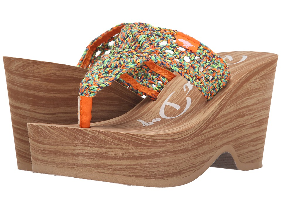 Rocket Dog - Helena (Multi Macrame) Women's Wedge Shoes