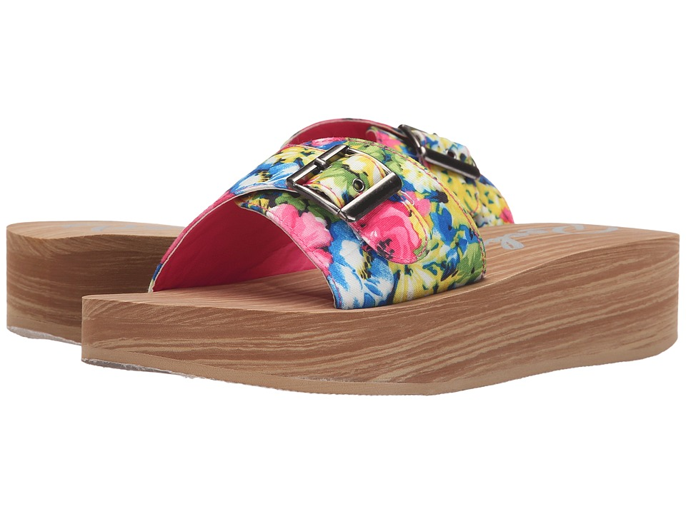 Rocket Dog - Kaplan (Pink Multi Holiday) Women's Sandals