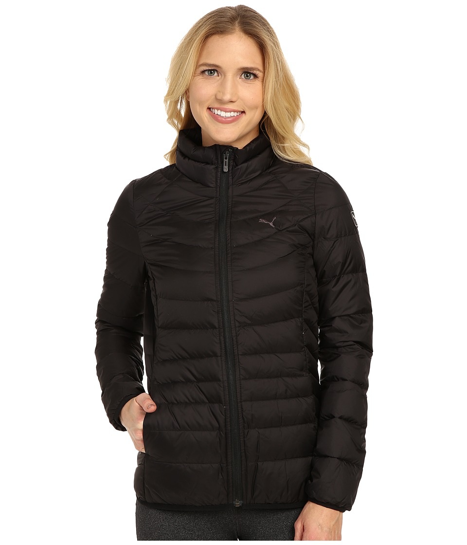 PUMA - StretchLight Packlight Down Jacket (Black) Women's Coat