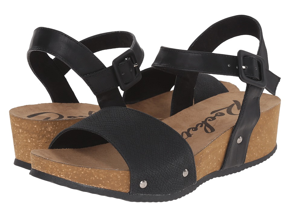 Rocket Dog - Gem (Black Snakewood) Women's Sandals