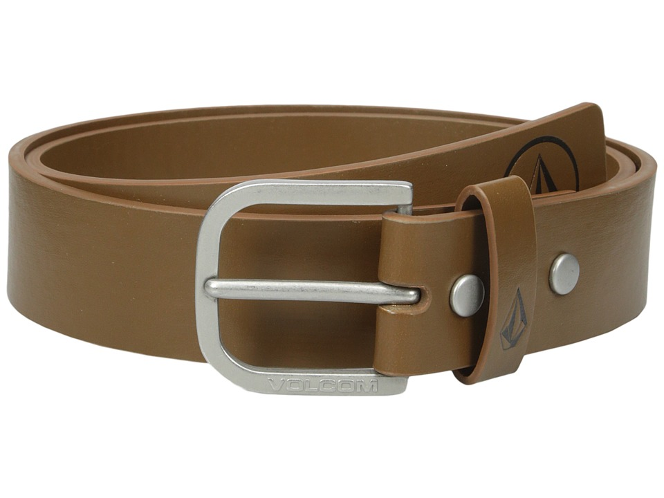 Volcom - Clone PU (Brown) Men's Belts