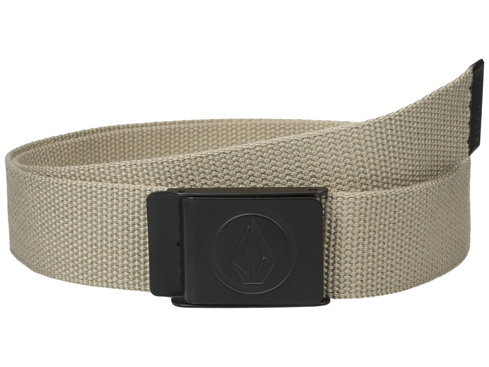 Volcom - Circle Web (Beige) Men's Belts