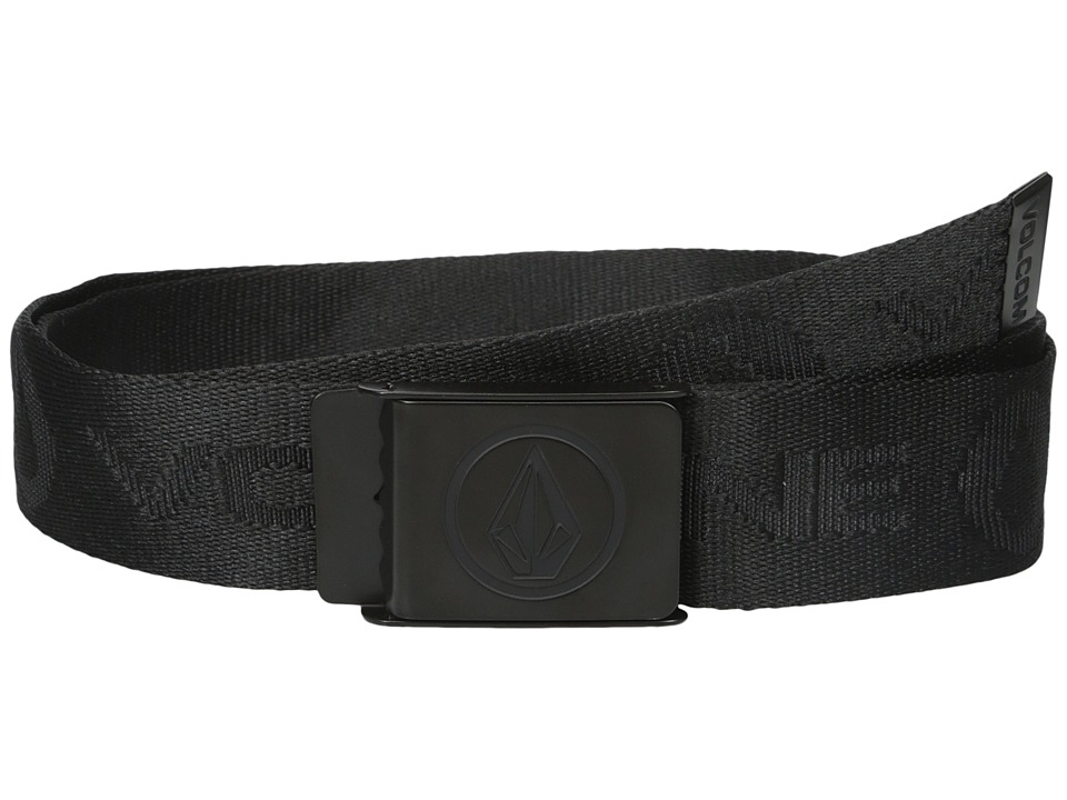 Volcom - Circle Web (Ink Black) Men's Belts