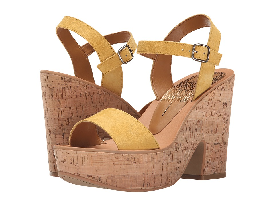 Dolce Vita - Randi (Yellow Suede) High Heels