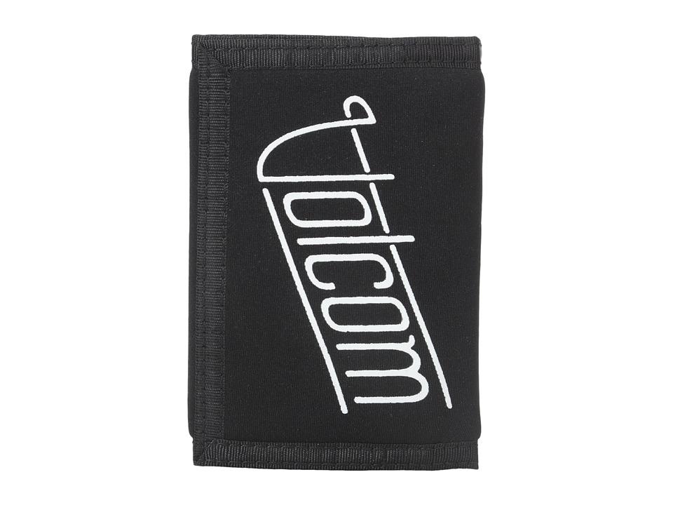 Volcom - Neo Stone Wallet (Black) Wallet Handbags