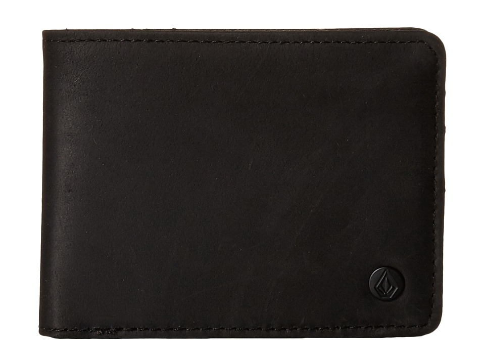 Volcom - Corps Premium (Black) Wallet Handbags