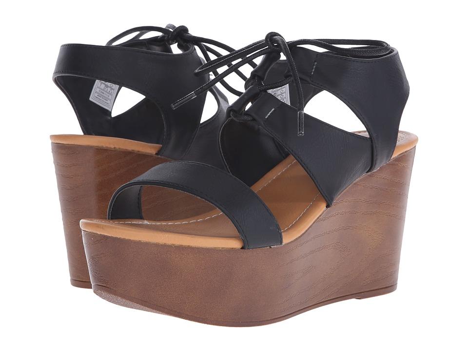 Rocket Dog - Samora (Black Rio) Women's Wedge Shoes