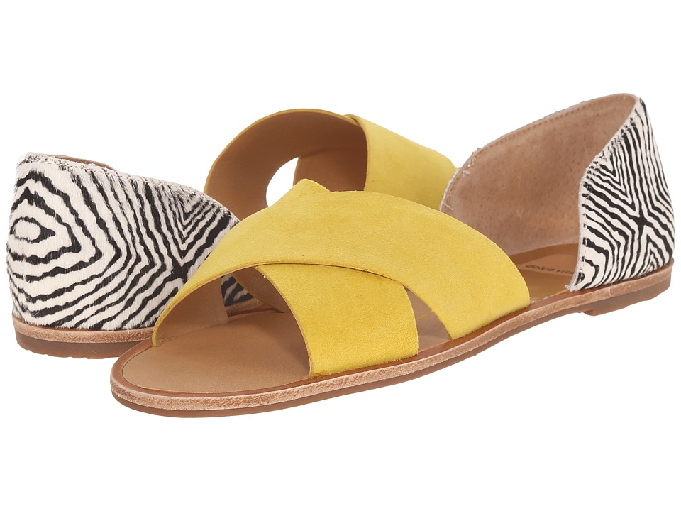 Dolce Vita - Delila (Yellow Multi Suede) Women