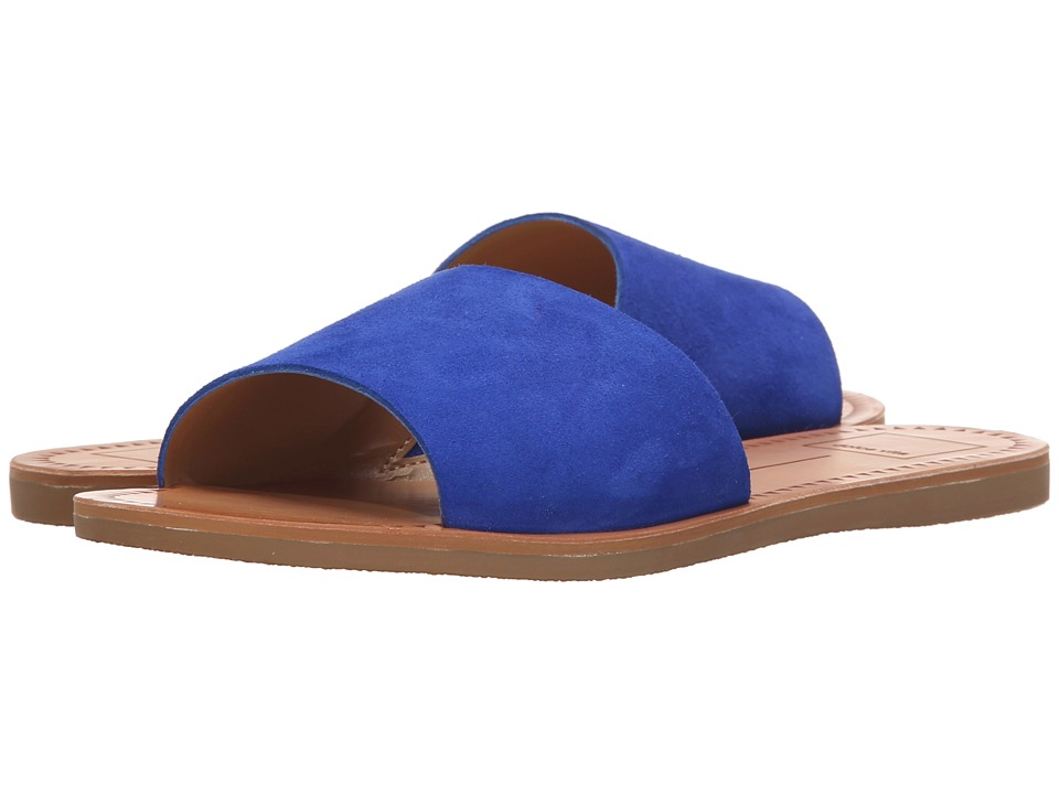 Dolce Vita - Javier (Blue Suede) Women's Shoes