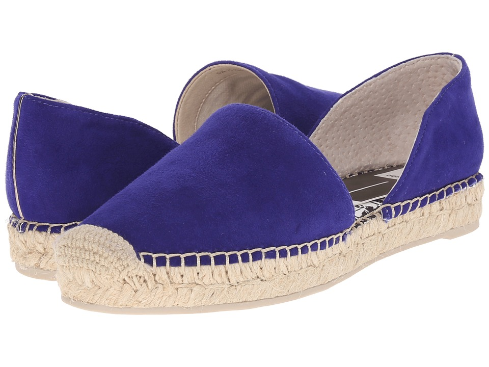 Dolce Vita - Ciara (Electric Blue Suede) Women's Flat Shoes