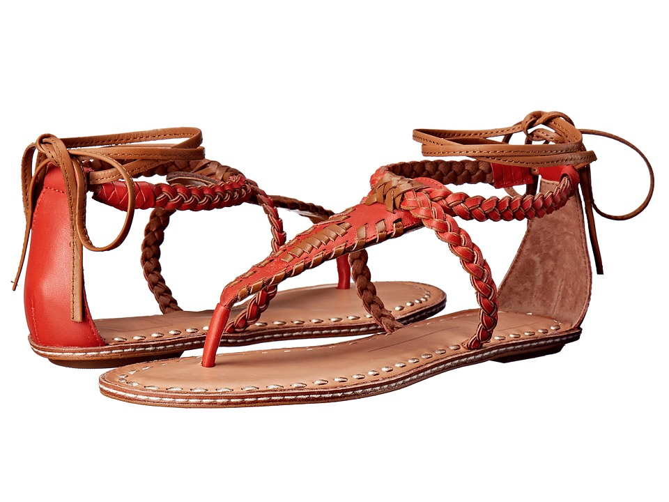 Dolce Vita - Keoni (Red/Orange Leather) Women
