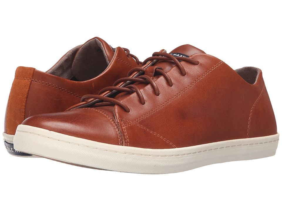 Cole Haan - Trafton Cap Sport Oxford (British Tan Handstain) Men's Lace up casual Shoes