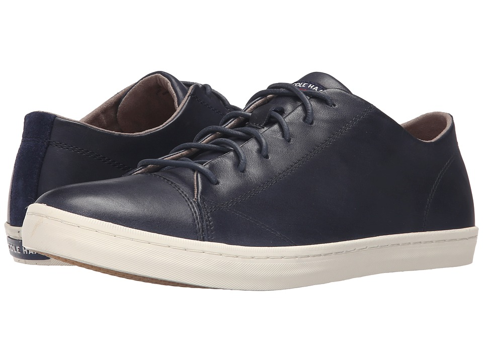 Cole Haan - Trafton Cap Sport Oxford (Blazer Blue Handstain) Men's Lace up casual Shoes
