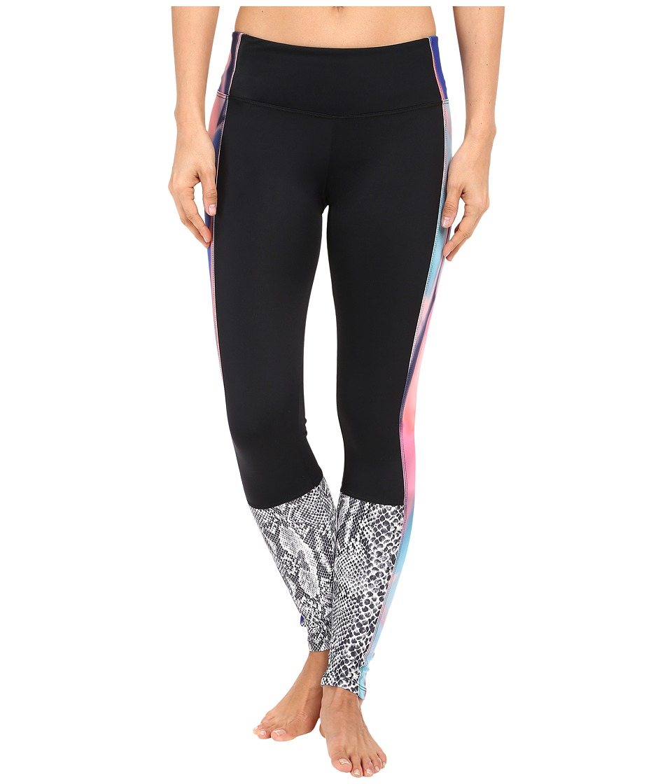 Onzie - Chemistry Block Leggings (Black/Chemistry/Nocturnal) Women's Casual Pants