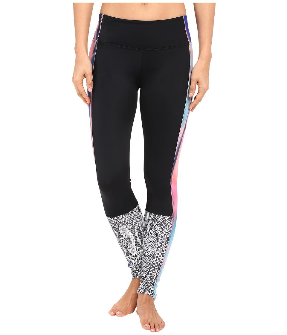 Onzie - Chemistry Block Leggings (Black/Chemistry/Nocturnal) Women's Casual Pants