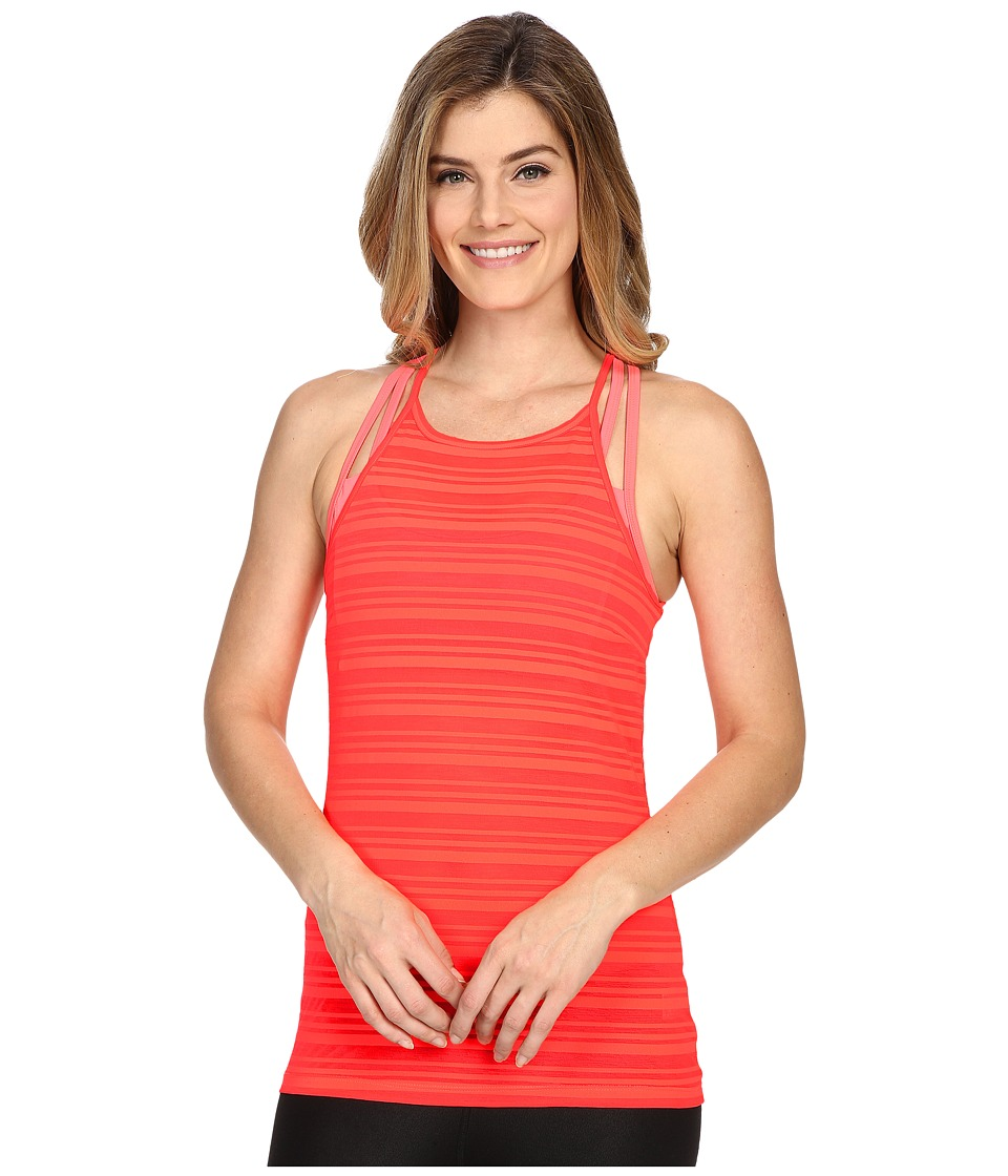 Onzie - High Neck Tank Top (Watermelon) Women's Sleeveless