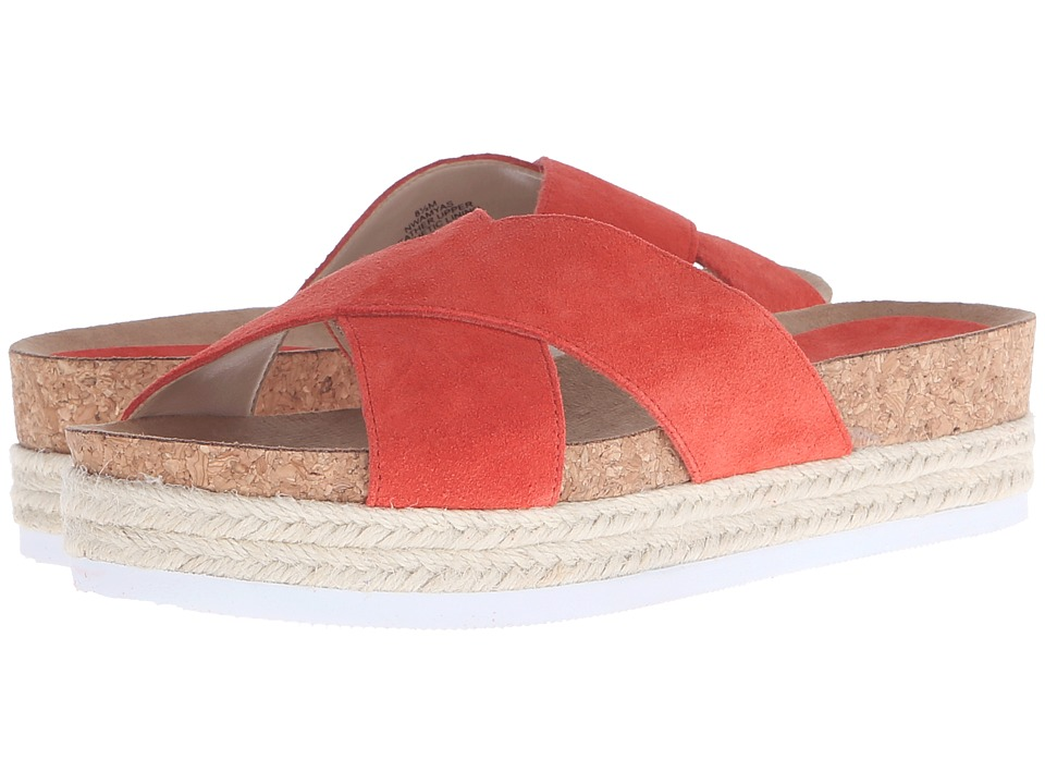 Nine West Amyas (Red Orange Suede) Women