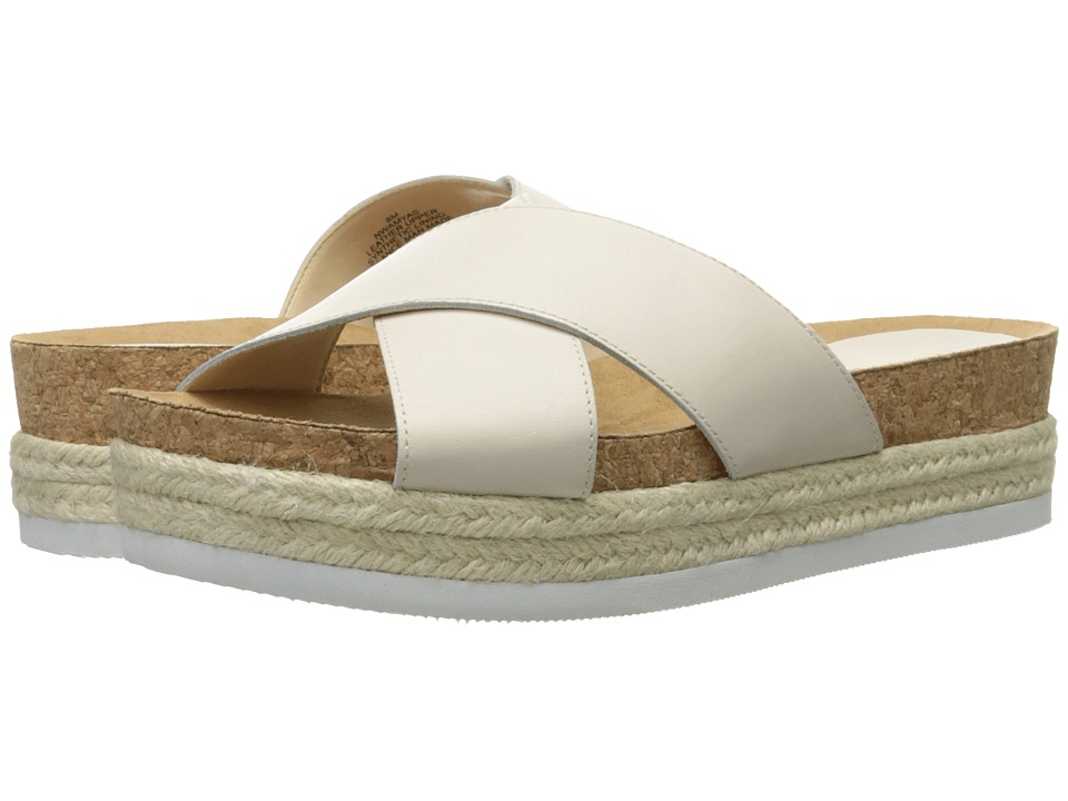 Nine West - Amyas (Off-White Leather) Women's Slide Shoes
