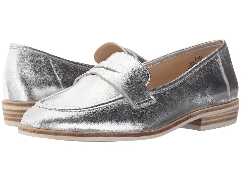 Nine West Antonecia (Silver Metallic) Women