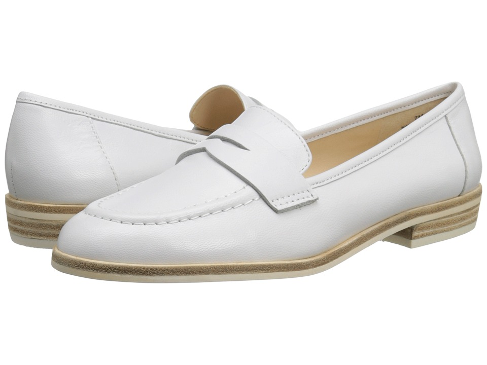 Nine West Antonecia (White Leather) Women