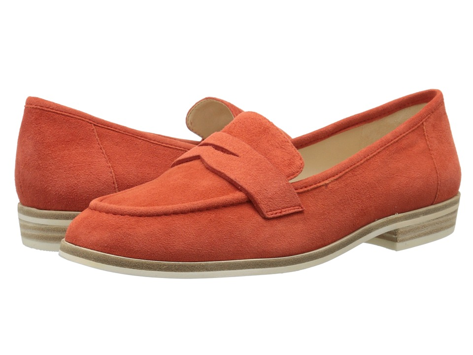 Nine West Antonecia (Red Orange Suede) Women