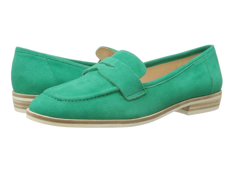 Nine West - Antonecia (Green Suede) Women's Shoes