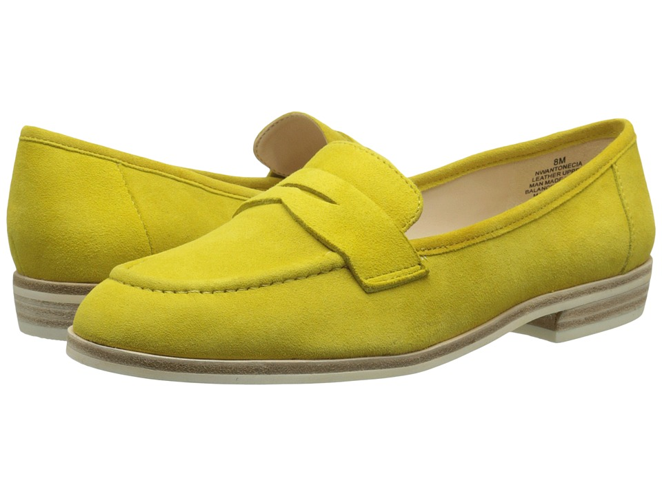 Nine West Antonecia (Yellow Suede) Women