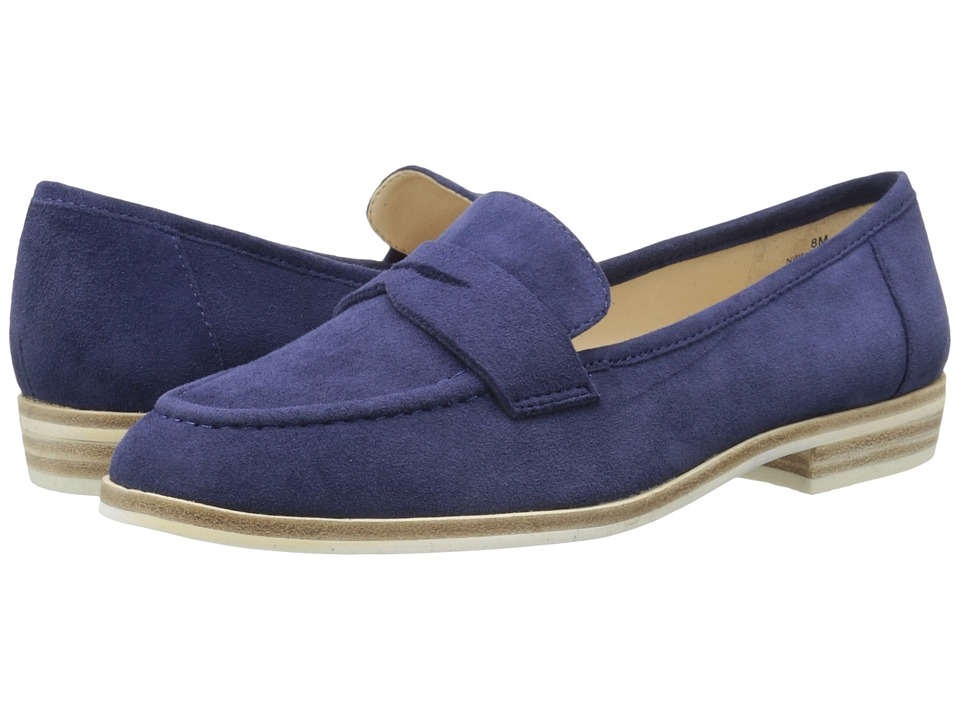 Nine West Antonecia (Navy Suede) Women