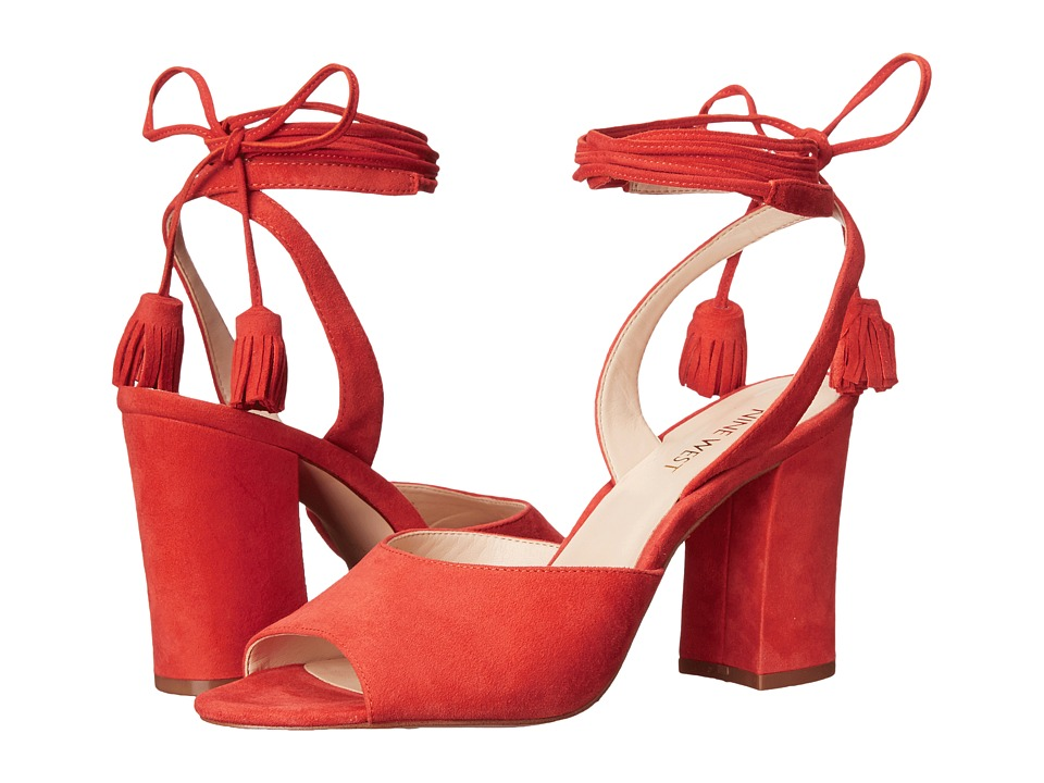 Nine West - Bellermo (Red Suede) High Heels