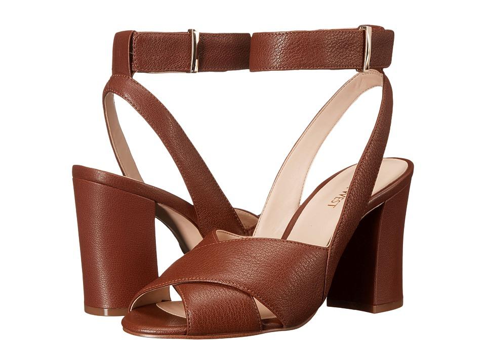 Nine West - Blanche (Cognac Leather) High Heels