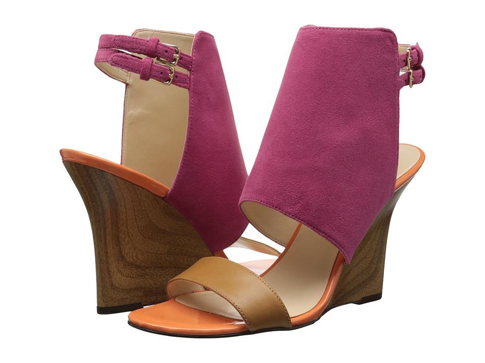 Nine West Bueta (Dark Pink Multi Suede) Women